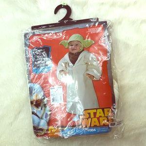 Star Wars Yoda toddler Halloween costume 24m
